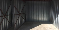 One of our storage units